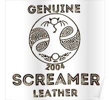 Albion Leather - Screamer Poster