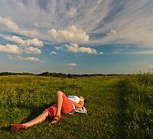 tranquility by Mariusz Sprawnik