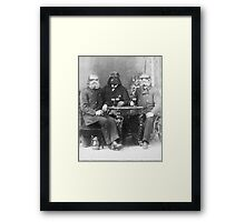 Vader enjoying a pilsner Framed Print