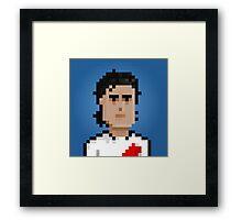 Ariel Ortega - River Plate Framed Print