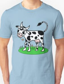 Cow in Meadow T-Shirt