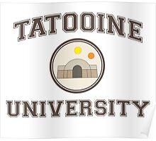 Tatooine University Poster
