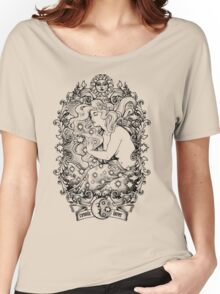 Cosmic Lovers  - ink solo version Women's Relaxed Fit T-Shirt
