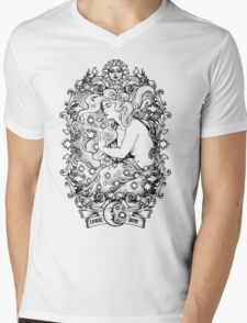Cosmic Lovers  - ink solo version Mens V-Neck T-Shirt
