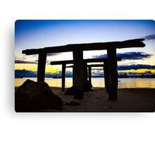 Port Denison sunset Canvas Print