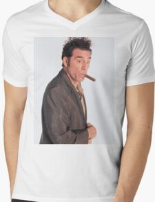 Kramer Mens V-Neck T-Shirt
