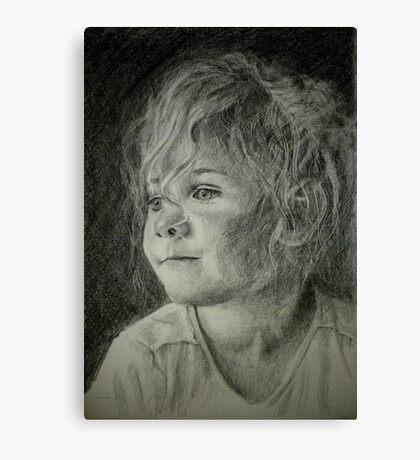 Bad hair day mom Canvas Print