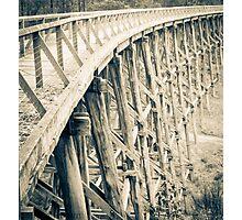 Trestle Bridge Noojee  Photographic Print