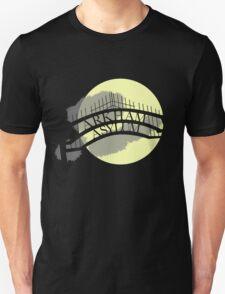 Arkham Asylum at Night T-Shirt