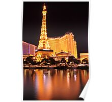 Eiffel Tower - Las Vegas Poster