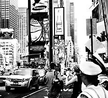 Times Square NYC by Sandy Taylor
