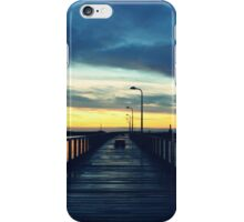 Pier Sunrise iPhone Case/Skin