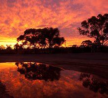 Mungo Sunset by ImagesbyDi
