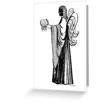 """Angel with Dove""© Greeting Card"