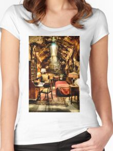 Al Capone's Cell Women's Fitted Scoop T-Shirt