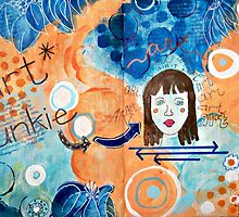 Art Junkie by artsychicksw