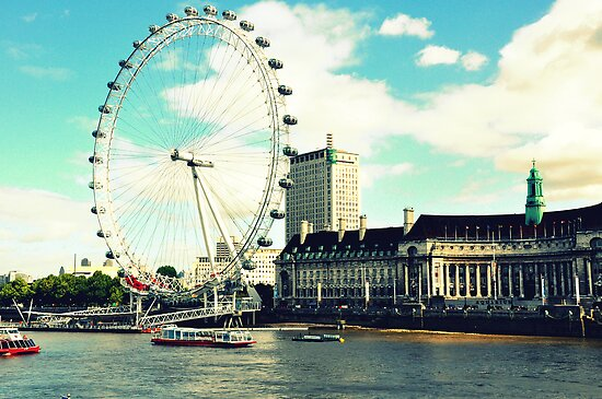 London Eye by SyrupnHoney