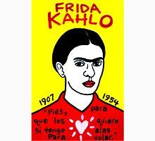 Frida Kahlo Pop Folk Art Unisex T-Shirt