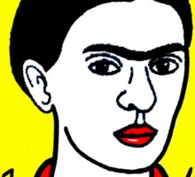 Frida Kahlo Pop Folk Art Sticker