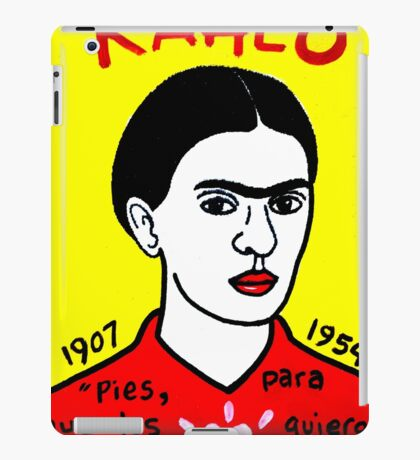 Frida Kahlo Pop Folk Art iPad Case/Skin