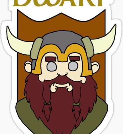 Derhoth the Dwarf Sticker