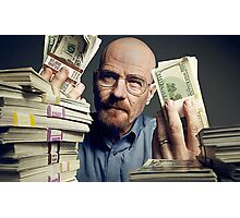 walter white gettin money Photographic Print