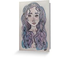 Mermaid Beauty Greeting Card