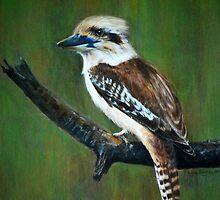Kookaburra by Lynn Hughes