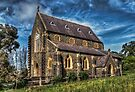 Bluestone Church - Clunes by Jason Ruth