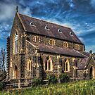 Bluestone Church - Clunes by Jason Ruth