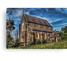 Bluestone Church - Clunes Canvas Print