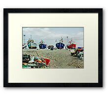Harbour Life Framed Print
