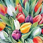 Challenge Tulips by Ann Mortimer