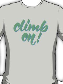 Belayer's Command T-Shirt
