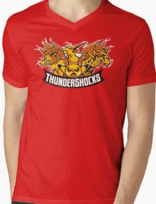 Team ThunderShocks Mens V-Neck T-Shirt