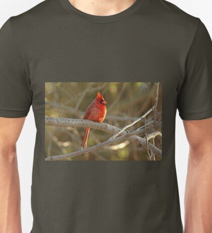 Northern Cardinal Songbird  - Cardinalis cardinalis  #2 Unisex T-Shirt