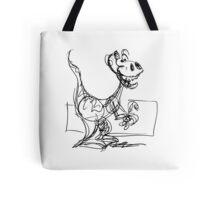 Bruno the wacky dino Tote Bag