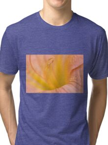 Pink Daylilly, As Is Tri-blend T-Shirt