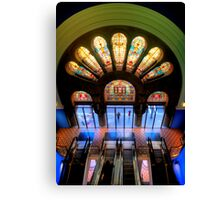 Master Glass - QVB, Sydney - The HDR Experience Canvas Print