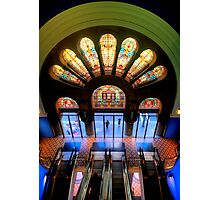 Master Glass - QVB, Sydney - The HDR Experience Photographic Print