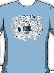 Blizznerds* Exclusive black and white T-Shirt