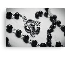 Prayer beads Canvas Print