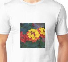 Fire Flowers Unisex T-Shirt