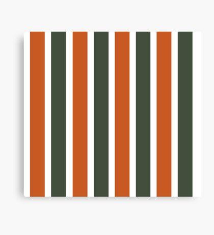 Bowie Stripe Canvas Print