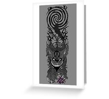 American McGee's cheshire cat Greeting Card