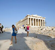 First view of the Parthenon by Mark Prior
