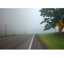 Road Challenge Photographic Print