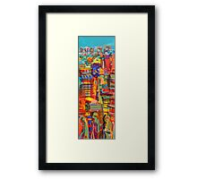 Urban life Framed Print