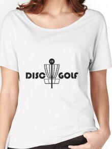 Disc Golf  Women's Relaxed Fit T-Shirt