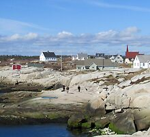 Peggy's Cove, NS by dmds14